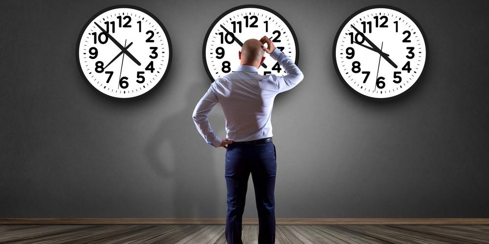jetlag man unsure of time body clock