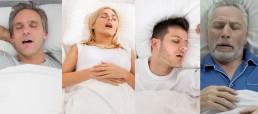 snoring men and women